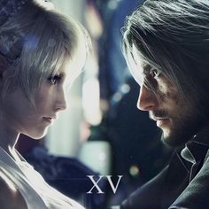 The King and the Oracle: Photo Final Fantasy Xv Wallpapers, Final Fantasy Artwork, Final Fantasy Characters, Final Fantasy Vii Remake, Fantasy Series, Noctis And Luna, Noctis Final Fantasy, Noctis Lucis Caelum, Wallpaper Animes