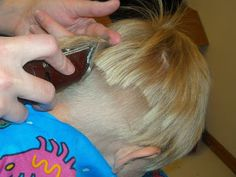 Continuing on from yesterday's post please welcome again Cheryl from Moms in Need of Mercy as she guests posts more about cutting little boys' hair! ————————————————————- As moms in need of mercy in all walks of life, when we can find ways of doing things ourselves instead of paying someone else to do them for us, …