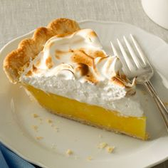 Florida Citrus Meringue Pie Recipe -Why limit a great dessert to just one kind of citrus fruit? Thanks to orange and lemon, this lovely pie packs a bold sweet-tart flavor! —Barbara Carlucci, Orange Park, Florida