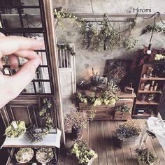 RepostBy @hiromini.room: #miniature #dollhouse #flower #увлечение #хобби #миниатюра #цветы