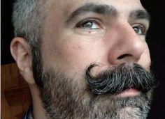 Types Of Mustaches, Moustaches, Mustache Types, Handlebar Mustache, Beard No Mustache, Hairy Men, Bearded Men, Beard Haircut, Raining Men