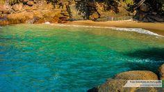 Resultado de imagem para praia do português em ubatuba