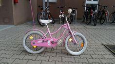 Krásny dievčenský bicykel 16