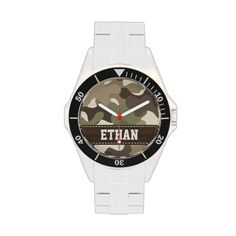 Personalized Camouflage Watch
