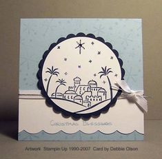 Clean, Simple City of David by debbiedesigns - Cards and Paper Crafts at Splitcoaststampers