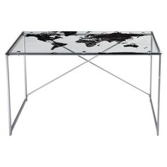World Map Desk @ target (light and dark options available)