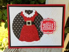 Stampin' Up! Christmas Card by Stamp Your Dream with Julie Ramos: Have a Holly Jolly Christmas!