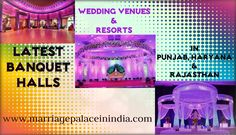 Top-Notch List Of #Banquet_Halls & #Wedding_Venues In #Punjab #Haryana #Rajasthan