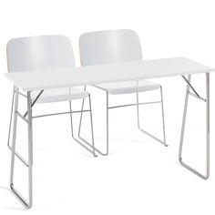 Foldable Desk Design: Foldable DeskGlory White Offect ~ Design Inspiration