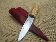 13th/14th century eating knife by Abritishviking.deviantart.com on @DeviantArt