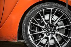 19-inch Lexus RC-F alloy wheel. #lexus #rc-f #wheel see more pics @ http://premiummoto.pl