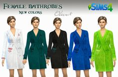 OleSims: Bathrobes for The Sims4