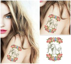 Temporary Tattoo's  Elephant in vintage by HilliaryCustomLiving, $5.00