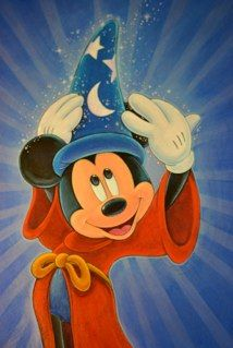 Magic is in the Air  by Bret Iwan...Magic is always in the air at Disney!