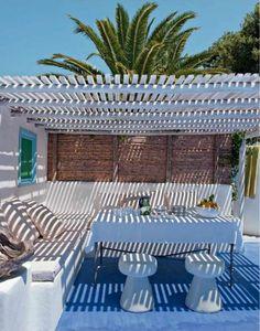 Jacques Grange's Mini Paradise on Dwellers Without Decorators