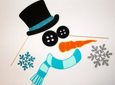 Holiday Party Props - Frosty the Snowman
