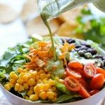 Permalink to: Southwestern Chopped Salad with Cilantro Lime Dressing