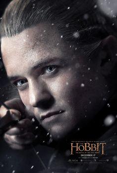 The Hobbit: The Battle of Five Armies - Legolas character poster #TheHobbit #OrlandoBloom #Legolas