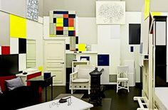 """The position of the artist is humble. He is essentially a channel. ""     -Pieter Cornelis ""Piet"" Mondriaan (1872 – 1944) was a Dutch painter. (P"" Mondrians Pariser Atelier 1921 bis 1936 Foto: © STAM Postma 2012)"