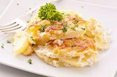 Zapekané zemiaky s bryndzou