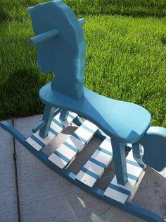Rocking horse repaint