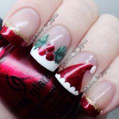 Christmas by whoa_its_jessica #nail #nails #nailart