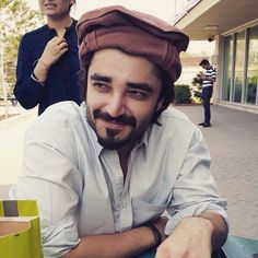 Who says our stars are not talented.They have to check that their brain is working properly. Cute Boys Images, Boy Images, Hamza Abbasi, Sanam Saeed, Pakistan Fashion, Aesthetic Boy, Pakistani Actress, Beautiful Celebrities, Personality