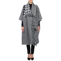 Stella McCartney - Blanket Coat Pied De Poule