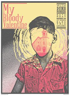 my bloody valentine band shirt