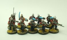 Praetorian Guard army painted by Warring Souls
