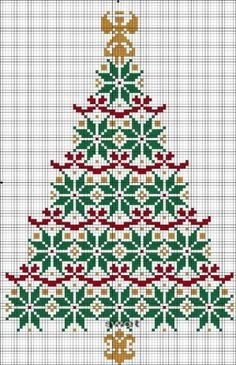 Free Cross Stitch Pattern - Christmas Tree by alissa