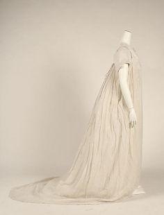 Dress Date: 1798 Culture: British Medium: cotton Accession Number: 1981.315.3