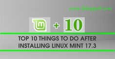 2daygeek.com Linux tips & tricks today ! After a long journey today we reached our milestone by over viewing the LinuxMint 17.3 important things need to do after fresh installation.