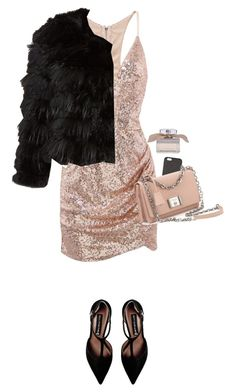 """""""Untitled #490"""" by isabellakongerskov ❤ liked on Polyvore featuring Alice + Olivia, Balmain, Prada, Chloé and Steve Madden"""