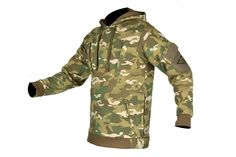 Cast Gear Pullover Hoodie w/ Hook & Loop Panels - C-Cam | Airsoft Megastore