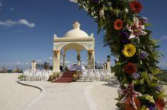 Wedding Set up at the Grand Bahia Principe Tulum, Riviera Maya, Mexico x