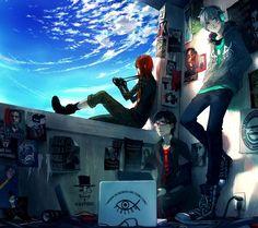 Fisheye Placebo: Cypherpunks - 50 Examples of Anime Digital Art | Art and Design