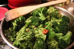 Broccoli Salad with Blue Cheese and Pecans