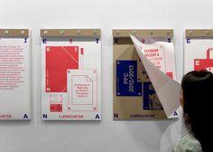 EINA, Centre Universitari de Disseny i Art de Barcelona / Quatre lletres. Eina! / Comunicació