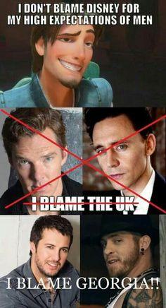 Benedict Cumberbatch from Sherlock and Tom Hiddleston from Thor Dc Memes, Marvel Memes, Luke Bryan, Benedict Cumberbatch, Benedict Sherlock, Hunger Games, Mrs Hudson, No Kidding, British Men