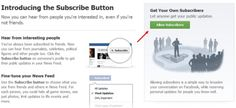 Facebook Subscribe Button – What It Means For Each Type Of User
