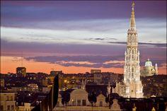 Brussels Skyline. 2013 © EDanhier