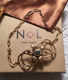A personal favorite from my Etsy shop https://www.etsy.com/listing/490454026/infinity-swirled-flower-bracelet-rough
