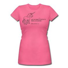 """""""give that bride a unicorn, Brides love unicorns"""" Fairly certain this shirt was made for me! <3"""