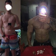 King @goldendawn_david  From where I started at the end of 2012 and where I am today. Really enjoying this journey. Currently doing.. I don't even know what I am doing. Adding mass but somehow staying sorta lean. Lean bulking? Just doing what I want no fancy routine I strictly follow no meal prep or meal plans no Low carb or what ever. Just doing what ever I feel like just like I did when I started. Think what you want of it it works fine for me. Don't even consume whey anymore or any other…