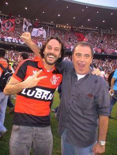 Gabriel Pensador e Kléber Leite | Clube de Regatas Flamengo, RJ