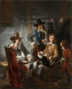 Soldiers in a Guardroom Gerbrand van den Eeckhout (1621-1674) at the Museum of Fine Arts, Boston