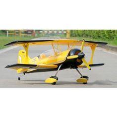 Sonic Modell Pitts Python 1400mm Large RC Plane (Brushless EPO Version)