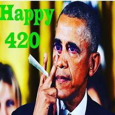by @timthechef #WhiteHouse #USA #president #Obama #belike #happy420 #420 #spliff #joint #bloodshoteyes #truecooks #tulsa #maryjane #ganja #dontbesad #hope #change