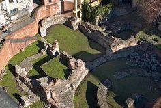 Terme del Palazzo imperiale, via Brisa